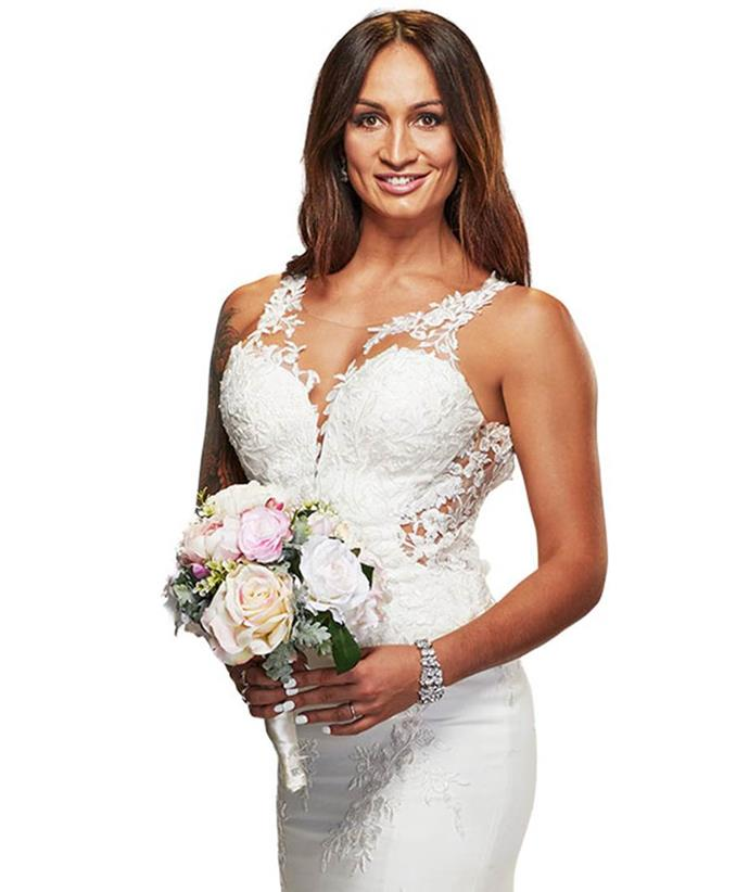 Hayley is a bride on the new season of *MAFS.*