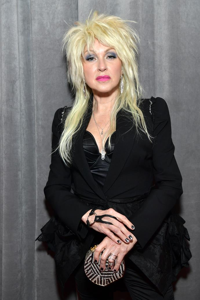Cyndi Lauper hasn't changed a bit - even her hair still just wants to have fun...