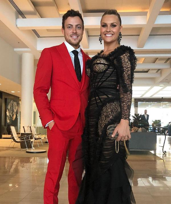 These two scrubbed up well for the 2019 TV WEEK Logie Awards.
