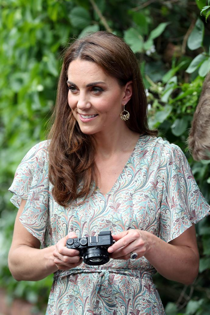As well as being the royal patron of the Royal Photographic Society, Duchess Catherine is a keen photographer herself.