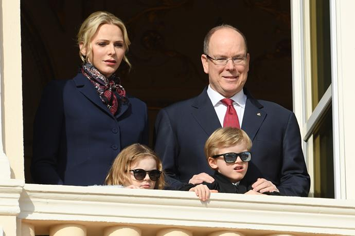 The Monaco royal family drew eyeballs a-plenty during a rare balcony appearance, but this time, it was the twins' unexpected accessory that got people talking.