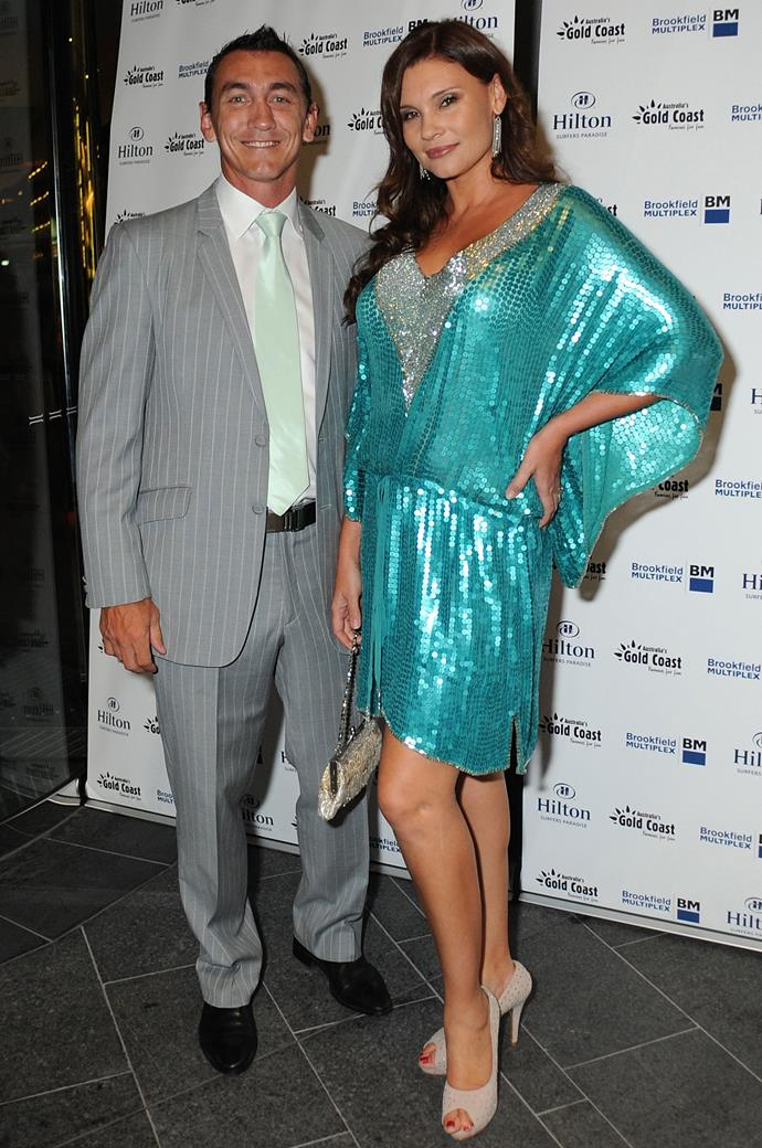 Mat and Chloe in 2011. Chloe has been a presence in the Australia media scene for years.