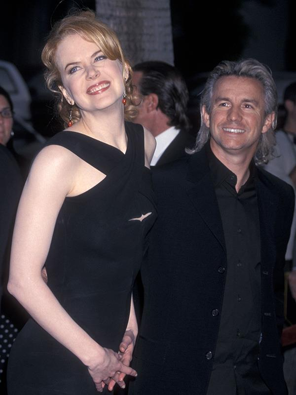 Nicole and Baz at the 2001 premiere of Moulin Rogue in Beverly Hills, LA.