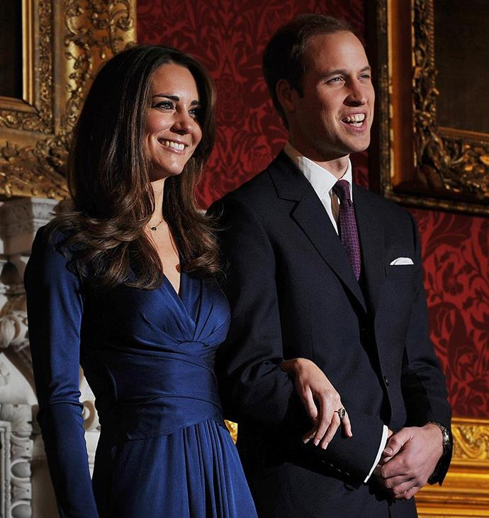 Duchess Catherine's engagement ring originally belonged to Prince Harry.