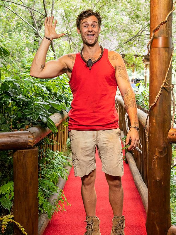 Ryan lost 10kg during his time on *I'm A Celeb!*