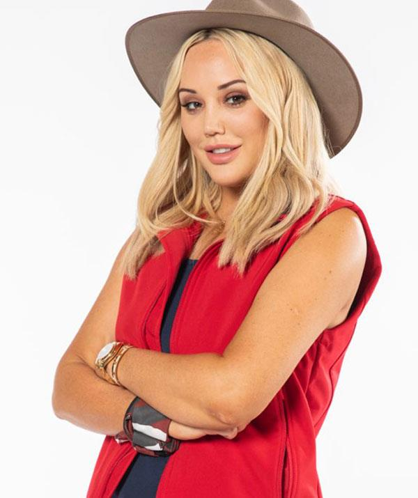 **Charlotte Crosby** <br><br> Charlotte Crosby was best known in the jungle for striking up a romance with ex-*MAFS* groom Ryan Gallagher, but the *Geordie Shore* star lasted just one night without her beau and was eliminated on Wednesday.