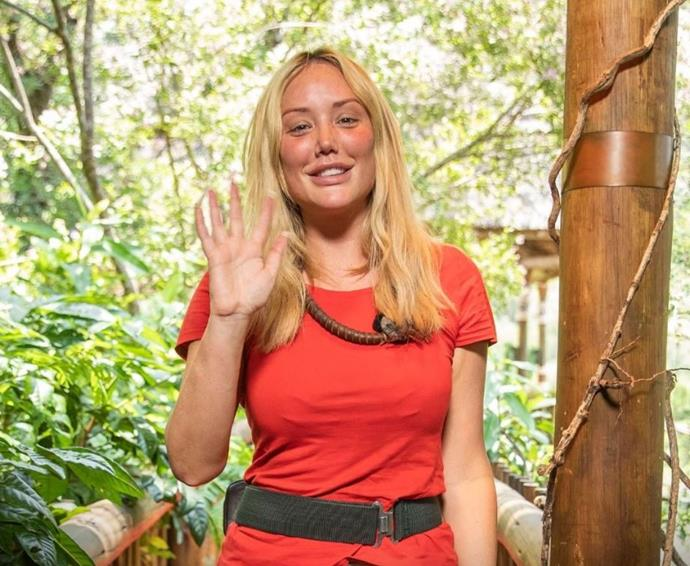 She made it four weeks, but Charlotte Crosby is out of the South African jungle.