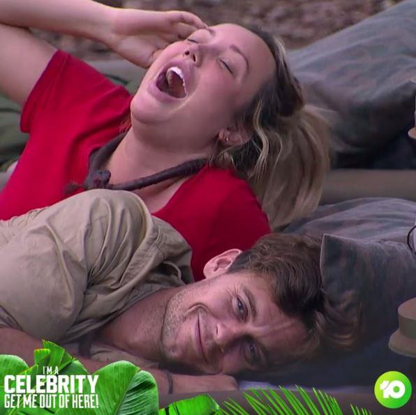 Despite having the same agent, Charlotte and Ryan didn't meet until they were thrown into the jungle together.