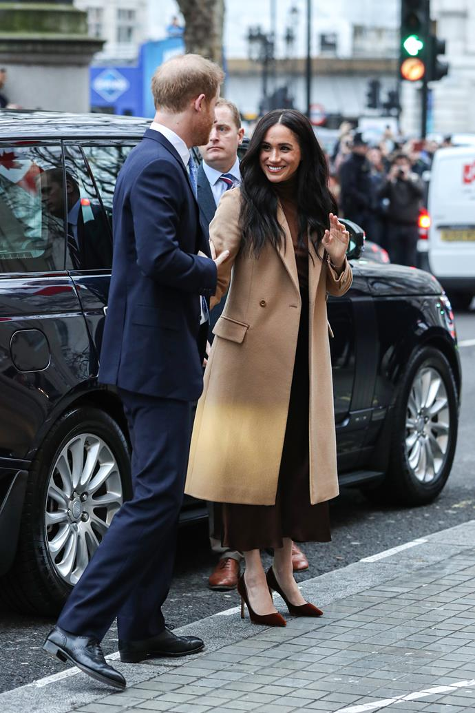 For Meghan and Harry, it's business as usual.