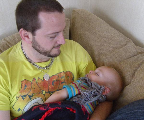 Warren when George was born.