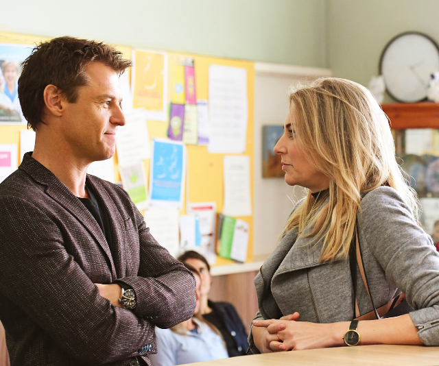 In *Doctor Doctor*, Hugh [Rodger Corser] meets his match in Tara...