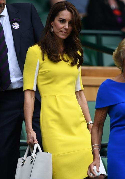 Two years on and she was still a fan - Kate re-wore it to the Wimbledon Championships in 2016.