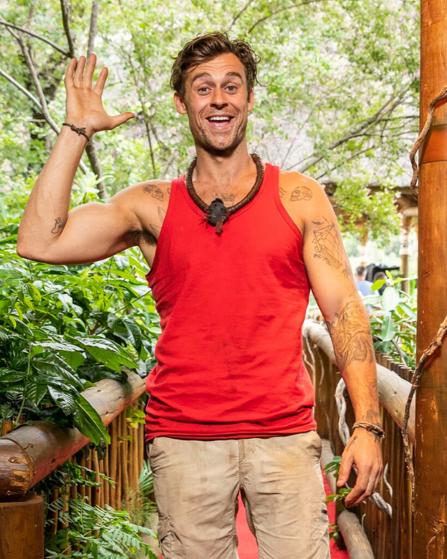 Ryan lost 10kg after his time in the jungle, but gained a romance with former *Geordie Shore* star Charlotte Crosby.