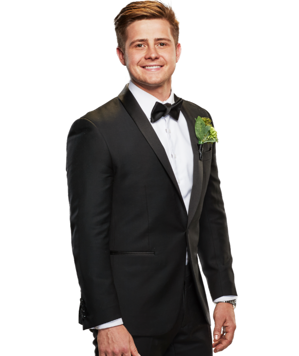 Mikey is one of the new grooms on *MAFS*.