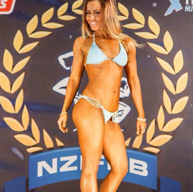 Cathy was a bodybuilder back in the day and took part in competitions.