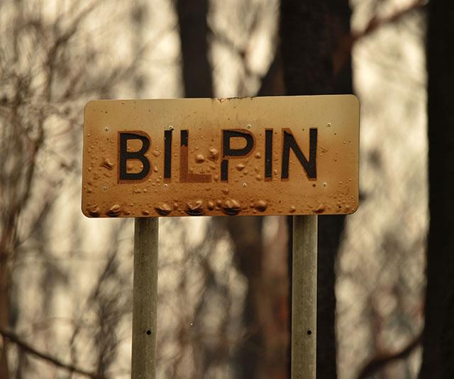 Bilpin was one of the communities affected by the recent bushfires.