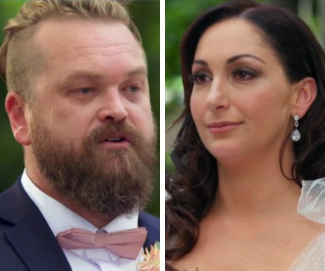 Luke and Poppy tied the knot in the *MAFS* premiere.