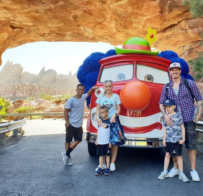 In fact, Jerry used his *Survivor* winnings to take Luke and his family on a trip to Disneyland.