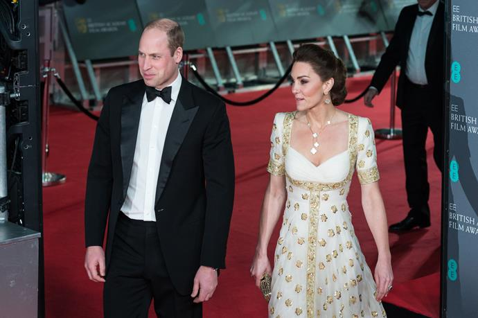 Wills looked rather chuffed after he was called beautiful by an onlooker.