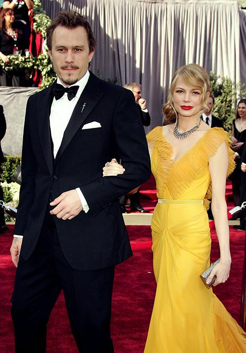 In 2006, the Australian legend hit the red carpet again with his then-partner Michelle Willaims. The American actress's beautiful yellow Vera Wang gown captured everyone's attention in the very best way.