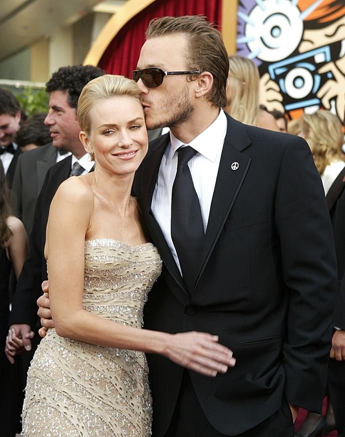 And she brought along a much loved Aussie in her entourage. The late Heath Ledger was in his movie hey-day at the time, and opted for a slick pair of sunnies to round out his tux.