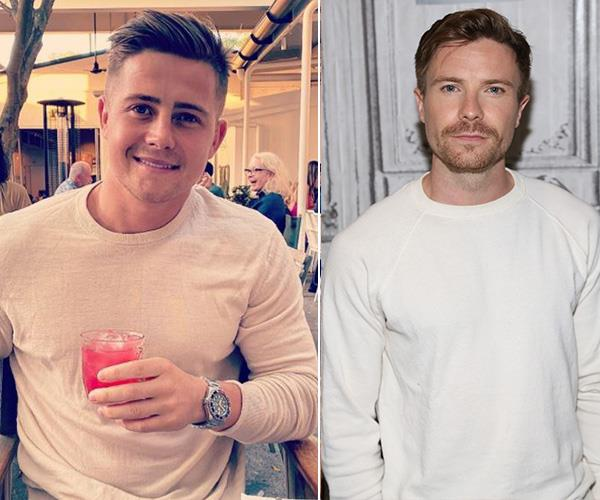 From's Sydney's North Shore to the unofficial King in the North: Mikey and *Game of Thrones* star Joe Dempsie have the same look going.
