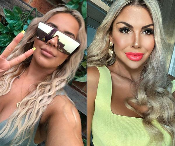 With those glam wavy locks and perfect pouts, Cathy is a dead ringer for *The Bachelor*'s Kiki Morris.