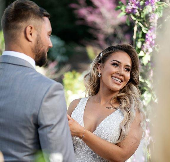 Cathy, who married Josh in a whirlwind *MAFS* ceremony this week, has been on a fitness journey over the past few years.