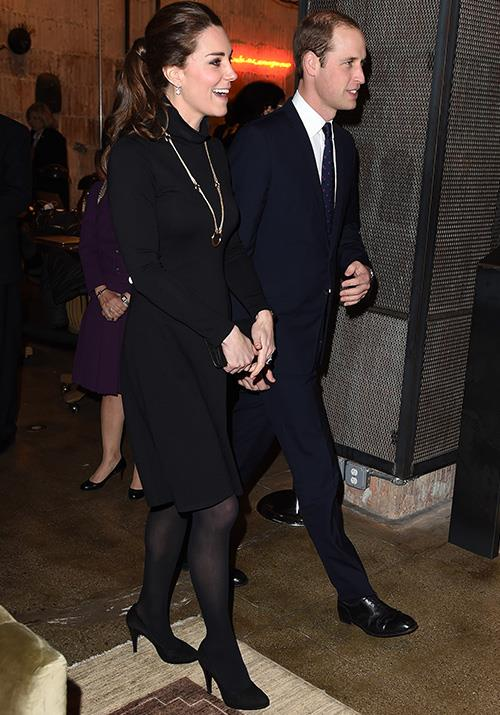 In 2014, Kate wore a chic AUD $87 Seraphine dress during a reception in New York City.