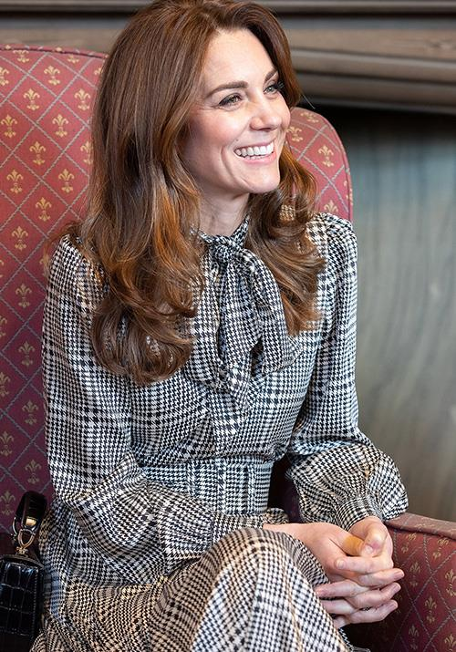 During an engagement at Bradford city hall in 2020, Kate's checkered Zara dress captured our attention in its own right, but when we found out it retailed for AUD $173, we were even more obsessed.