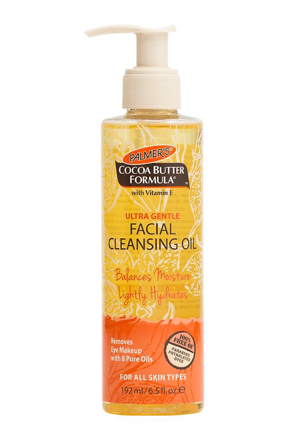 Palmer's Facial Cleansing Oil helps get rid of stubborn makeup.
