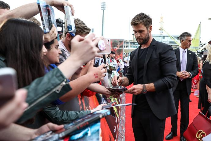 Former *Home and Away* star Chris Hemsworth has since made a name for himself in Hollywood.