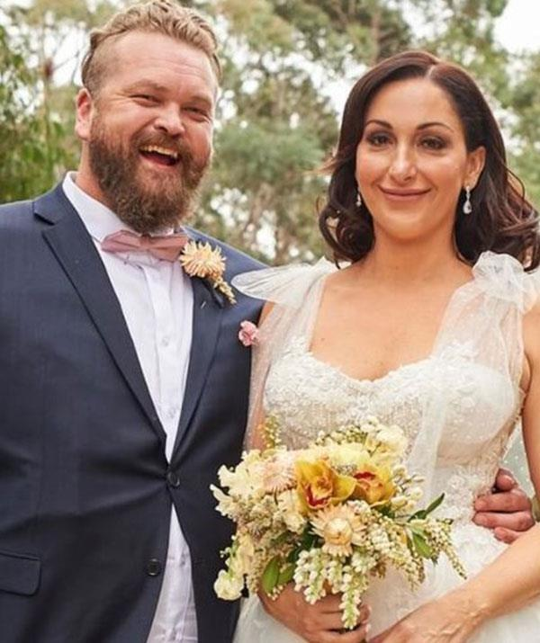 Things got off to a shakey start from Luke and Poppy when they tied the knot on *MAFS*.