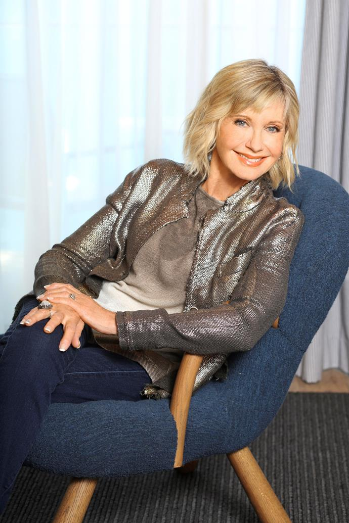 Olivia Newton-John is coming home for an emotional reason.