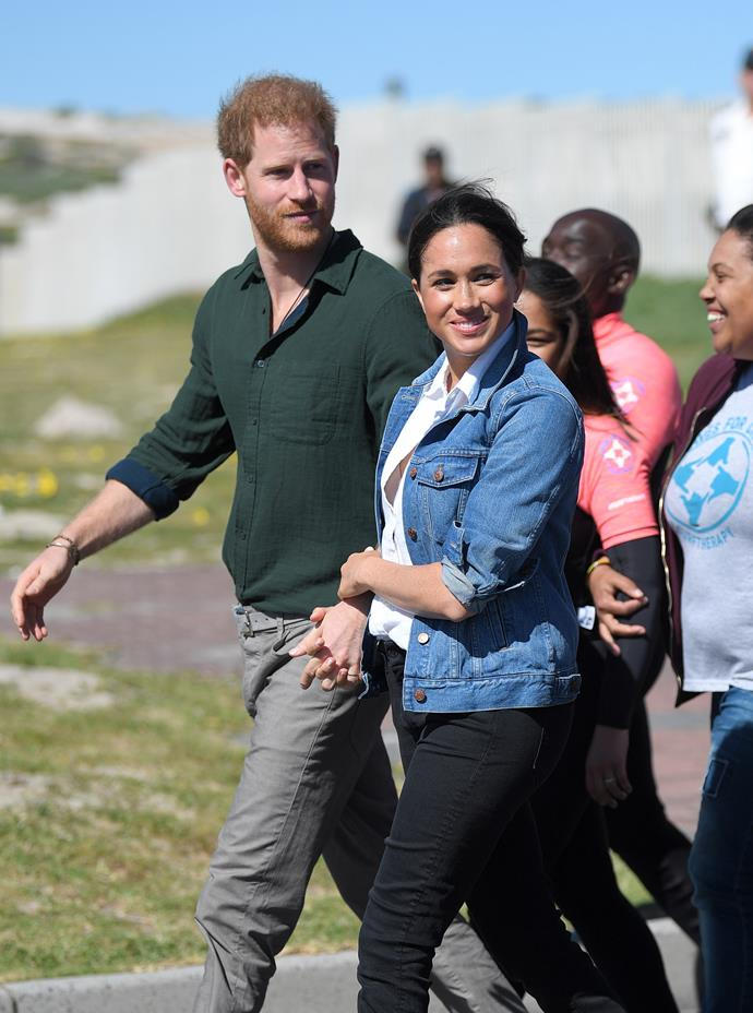 Harry and Meghan announced they would step back from their roles as senior royals in January.