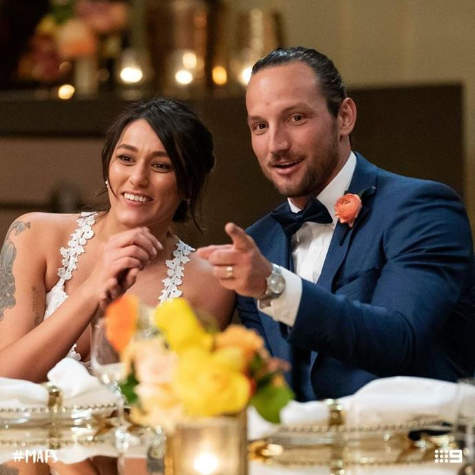 Could **Connie and Jonethen** be this year's *MAFS* success story?