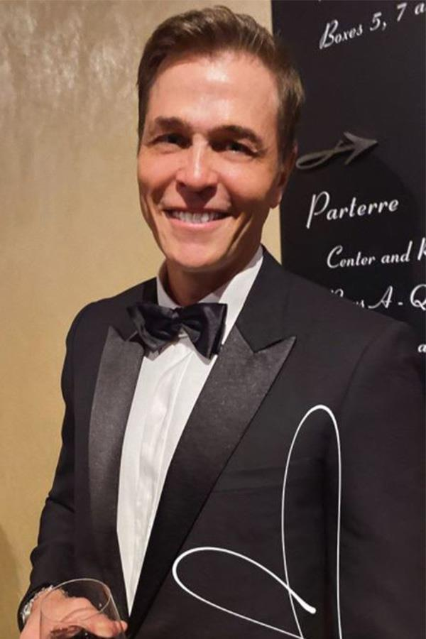 Pia shared this candid snap of her man looking fab in a tux, on her Instagram stories.
