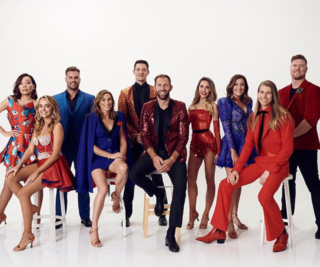 The *Dancing With The Stars* 2020 cast.