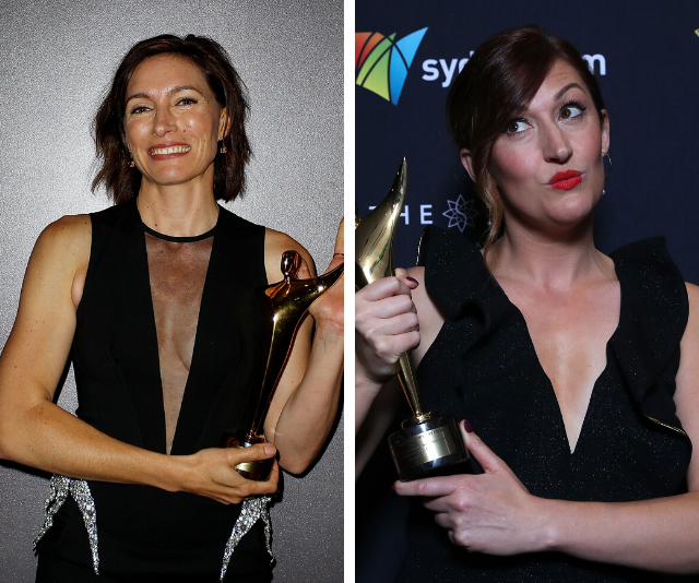 Claudia (left) and Celia (right) are both AACTA Award winners.