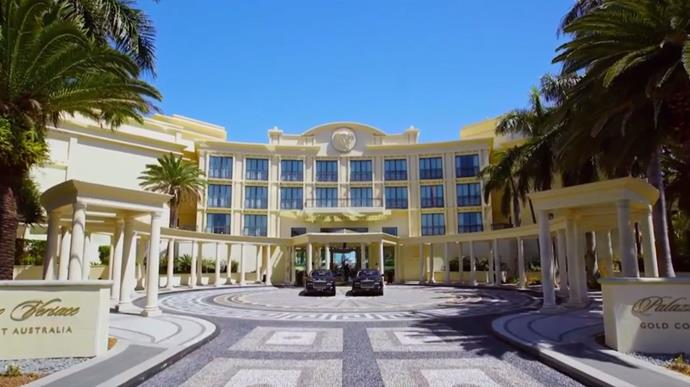 Aleks and Ivan lived it up at the five star luxury Palazzo Versace Hotel on the Gold Coast.