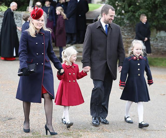 The Phillips' with their two daughters, Isla and Savannah.