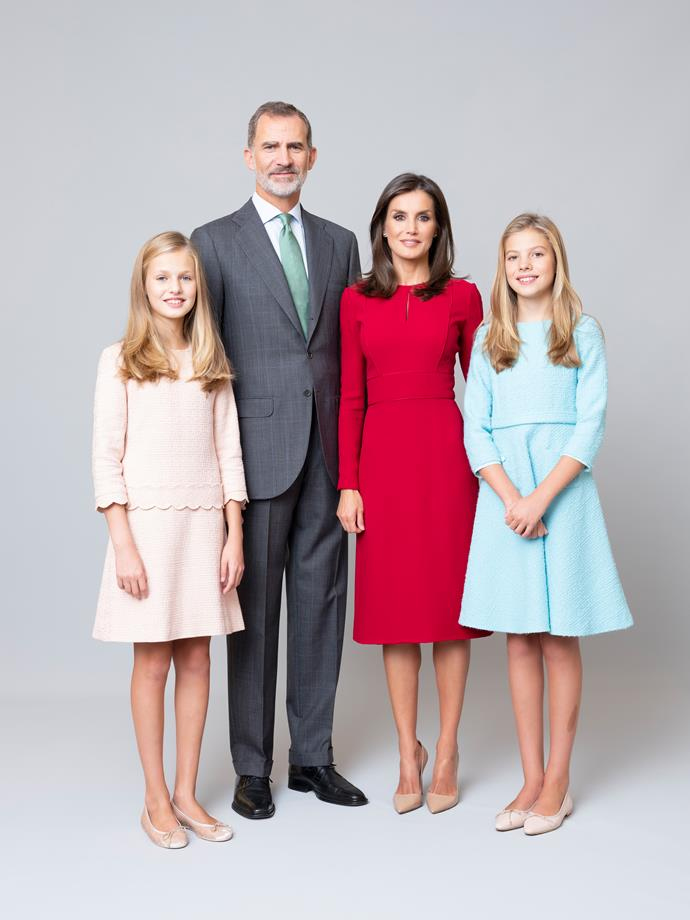 The Spanish royal family are a pure sight to behold.