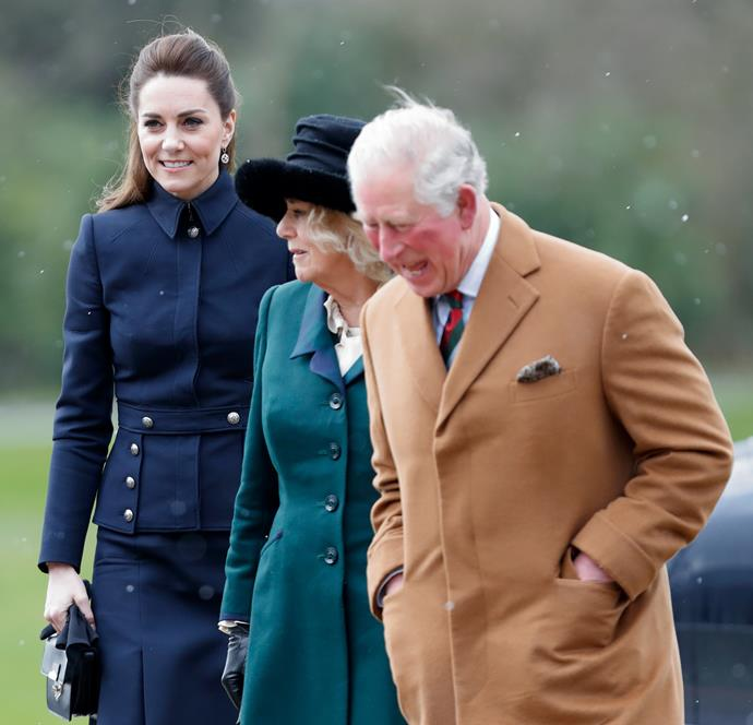Is Charles giving style icon Kate a run for her money?