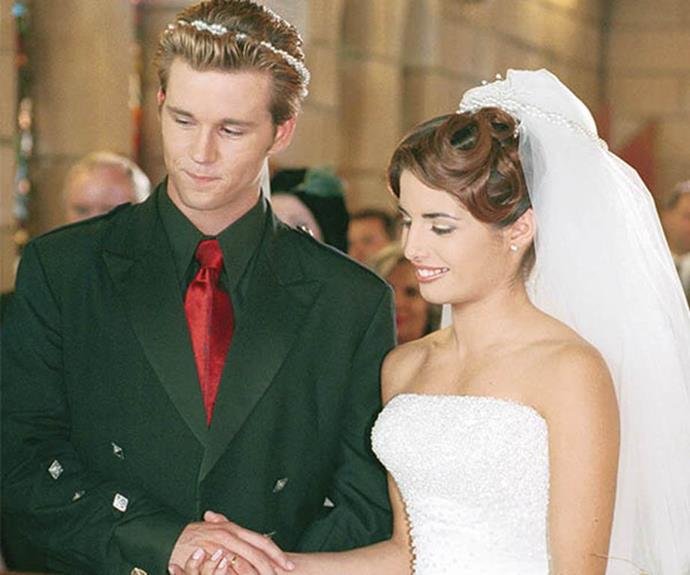 "In possibly her most iconic moment of all time, Leah's wedding to Vinnie Patterson captivated Aussie audiences. Interestingly, it was later revealed Ada and cast mate [Ryan Kwanten](https://www.nowtolove.com.au/celebrity/movies/first-look-at-ryan-kwanten-as-the-voice-of-blinky-bill-29923|target=""_blank"") (who played Vinnie) chose their wedding outfits themselves - no wardrobe department necessary!  <br><br> But perhaps they jumped the gun a little - Ada's chosen form-fitting dress caused her a couple of problems during the two weeks it took to film the wedding scenes. According to the *Illawarra Mercury*, it bruised her ribs!"