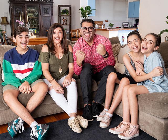 The Elias family are joining *Gogglebox Australia.*
