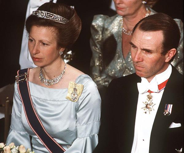 After divorcing Captain Mark Phillips, Princess Anne went on to marry Commander Timothy Laurence.