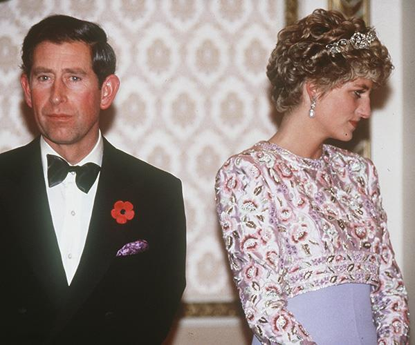 Towards the end of their marriage, it was clear to see that there was no love between Charles and Diana.