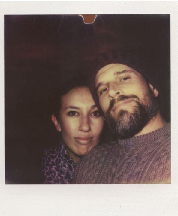 """Osher Gunsberg posted a candid Polaroid of himself and partner Audrey from 2015. In an emotional caption, the TV host wrote: """"In those early days, when I wasn't very well and quite afraid of everything (including a relationship) she really fought bloody hard for us and helped me see it was something worth pursuing, and that things could be better. I'm so grateful that she did."""" <br><br> He continued: """"Both Audrey and her daughter Georgia transformed my life in unimaginable ways, and now that Wolfie has joined the three of us, the adventure just gets better. Happy Valentine's Day my love. x"""" """