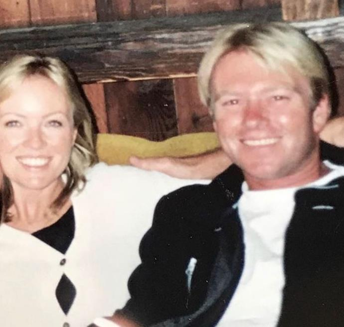 "Actress Rebecca Gibney posted a brilliant throwback snap with her husband Richard Bell, writing: ""19 years ago and still my Valentine today. Love you Big R. ❤️"" Bit cute!"