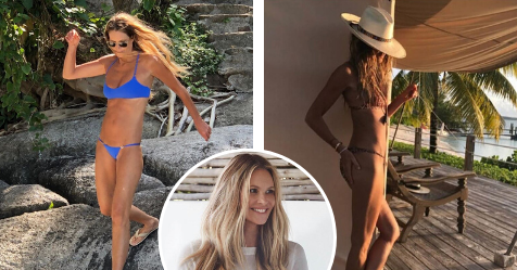 EXCLUSIVE: Elle Macpherson reveals the exact day on a plate that keeps her in incredible shape at age 55